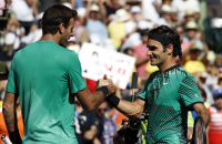 Del Potro cayó ante Federer y quedó eliminado del Miami Open