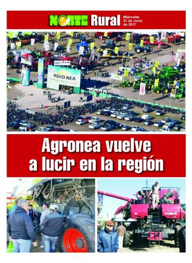Agronea vuelve a lucir en la región