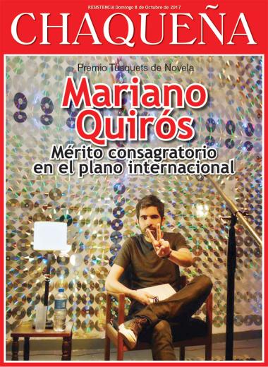 Mariano Quirós, mérito consagratorio en el plano intenacional