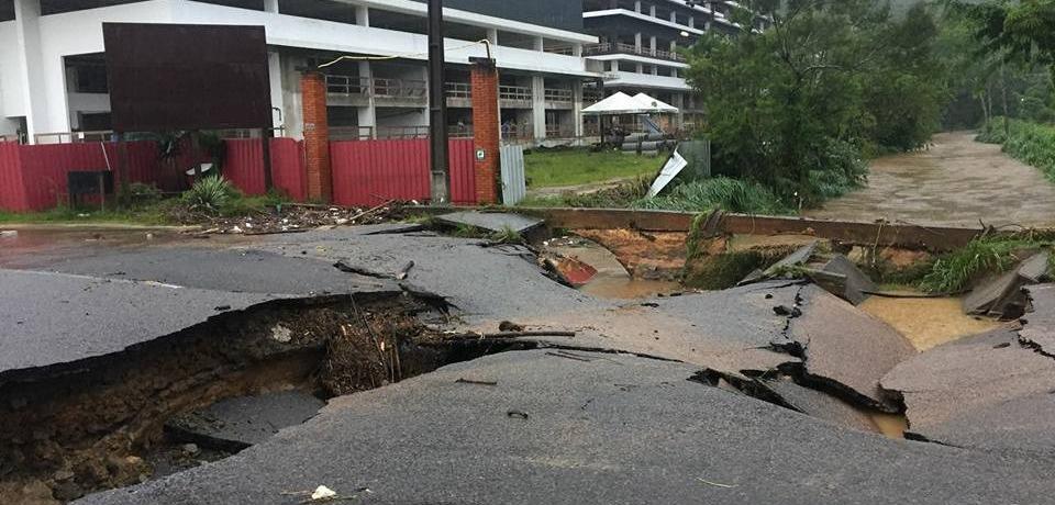 Florianópolis en estado de emergencia por lluvia e inundaciones