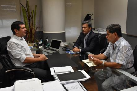 Funcionarios Del Ministerio Del Interior Analizan El Plan
