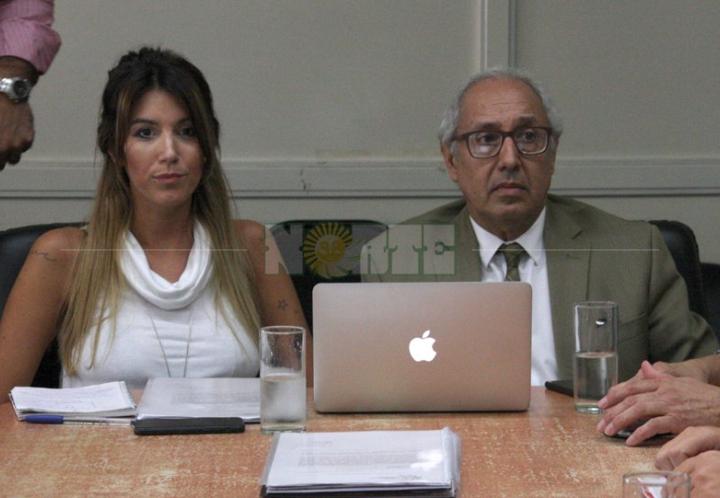 Nadia Amud realizó su descargo ante la Comisión Legislativa Permanente