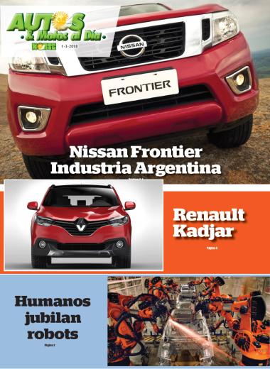 Nissan Frontier industria argentina