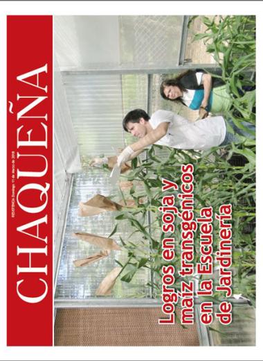 Logros en soja y maíz transgénicos en la Escuela de Jardinería