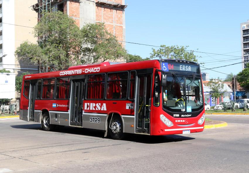 Ersa Urbanos logró la concesión por 10 años del servicio Chaco-Corrientes    Norte Chaco
