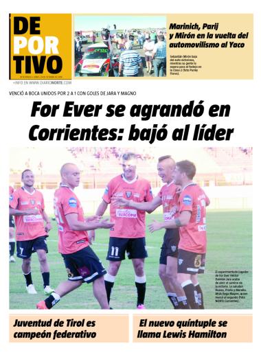 For Ever se agrandó en Corrientes: bajó al líder