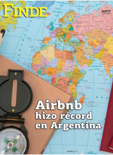 Airbnb hizo récord en Argentina