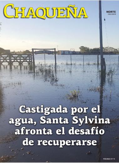 Castigada por el agua, Santa Sylvina afronta el desafío de recuperarse