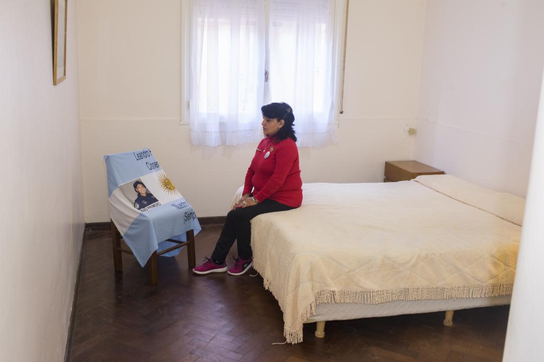 Yolanda, Madre del Cabo Principal Leandro Fabián Cisneros.jpg