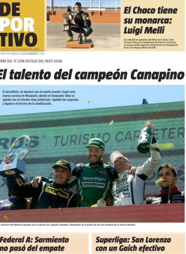 El talento del campeón Canapino