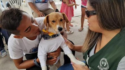 Perú: nene murió tras salvar a su perro de un incendio