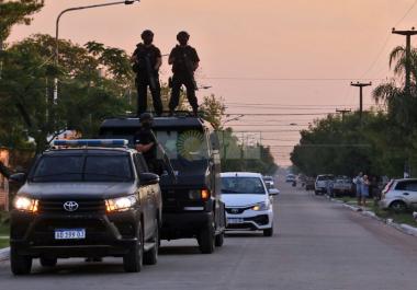 Operativo de prevención y concientización de la Policía del Chaco