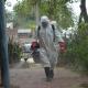 Desinfectan espacios públicos en Barranqueras contra el Covid-19