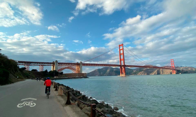 Realiza un recorrido lleno de adrenalina en bicicleta al Golden Gate