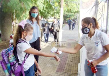La pandemia impuso nuevas restricciones para las clases