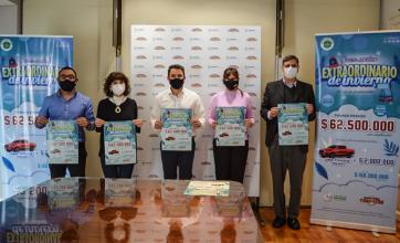 Lotería Chaqueña presentó el sorteo extraordinario de invierno, con más de $168 millones en premios