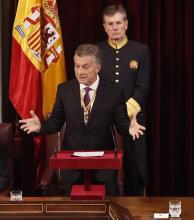 Macri recibió una carta de Podemos pidiendo por Milagro Sala