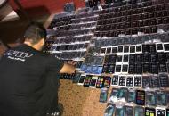 Afip incautó celulares por casi dos millones de pesos