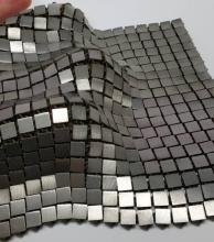 Un ingeniero de la NASA creó un tejido metálico con impresión 3D