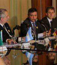 Gobernadores de Argentina y Brasil se  reúnen para avanzar en la integración