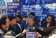 """Ocho meses sin Maira: """"El Estado quiere ser querellante en la causa de mi hija"""""""