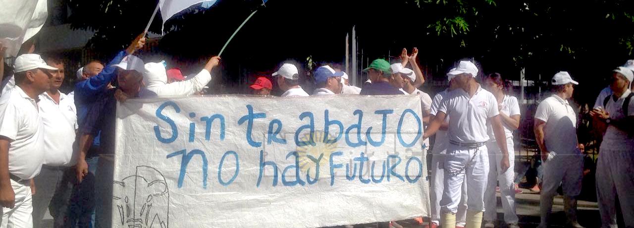 """Trabajadores de Frigorífico Resistencia inician """"caravana"""" en busca de volver a faenar"""