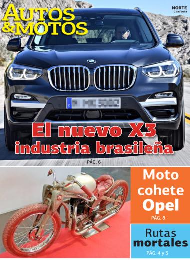 El nuevo X3 industria brasileña