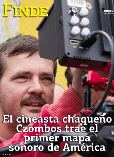 El cineasta chaqueño Czombos trae el primer mapa sonoro de América