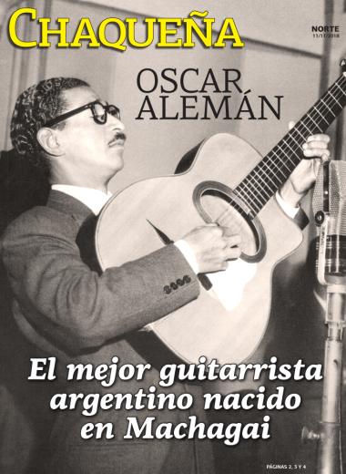 El mejor guitarrista argentino nacido en Machagay