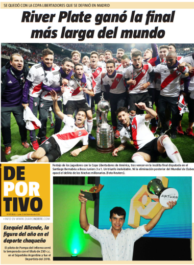 River Plate ganó la final más larga del mundo