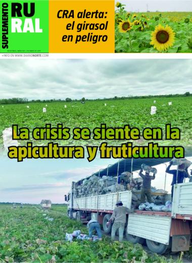 La crisis se siente en la apicultura y fruticultura