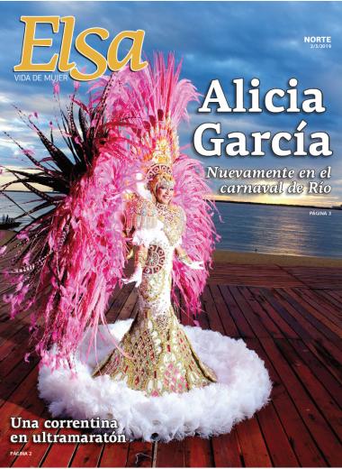 Alicia García Nuevamente en el carnaval de Río