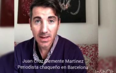 Periodista chaqueño en Barcelona avizora un complejo panorama económico