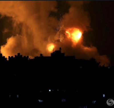 Hamas lanzó cohetes sobre Jerusalén e Israel atacó en Gaza: 20 muertos y 300 heridos