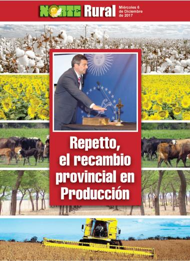 Repetto, el recambio provincial en Producción