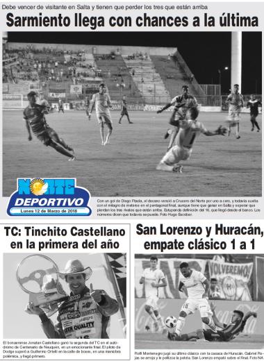 Sarmiento llega con chances a la última