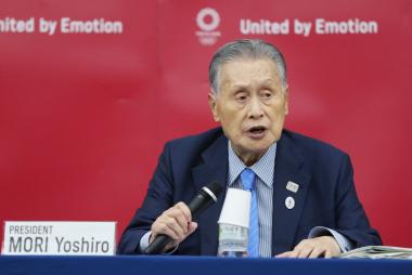 Yoshiro Mori - presidente del comité organizador de los Juegos Olímpicos de Tokio.jpeg