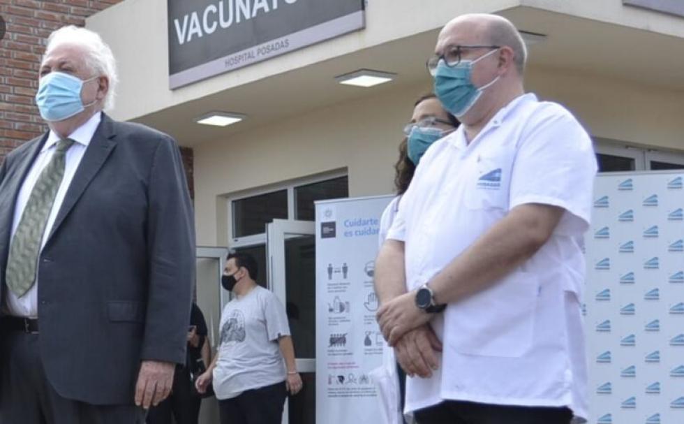 Revelan cómo era el operativo de vacunación VIP en el Hospital Posadas