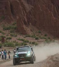 """El """"Pato"""" Silva también terminó la especial camino a Oruro"""