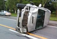 Un muerto en Reconquista: una camioneta embistió de atrás un auto