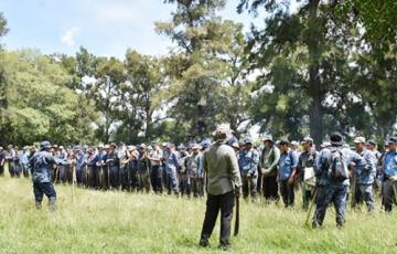Caso Maira: con un terreno complicado por las lluvias, la patrulla especializada no halló nada