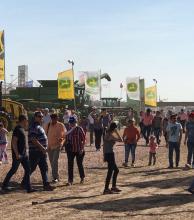 Las demostraciones a campo, volvieron a brillar en Agronea