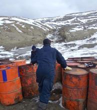 La cocaína contamina la Antártida