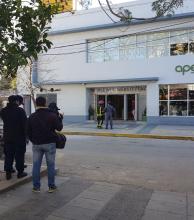 Evacuaron un call center por una amenaza de bomba