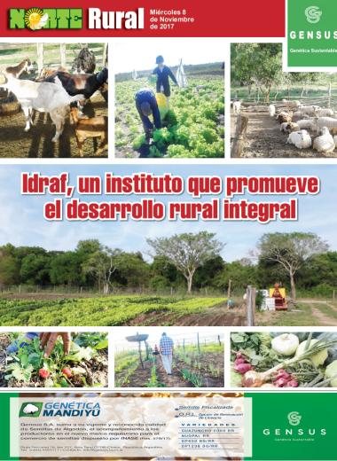 Idraf, un instituto que promueve el desarrollo rural integral