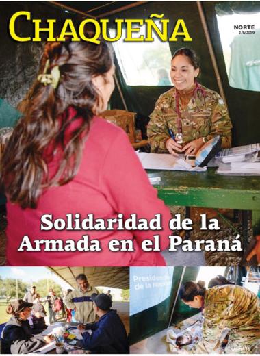 Solidaridad de la Armada en el Paraná