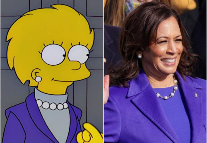 ¿Los Simpson anticiparon también a Kamala Harris?