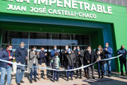 La infraestructura deportiva sumó imponente microestadio de Castelli