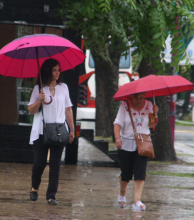 Se espera un fin de semana caluroso con lluvias y tormentas