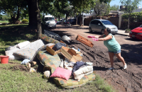Estiman que unas 800 personas perdieron todo en Arroyo Seco por las inundaciones